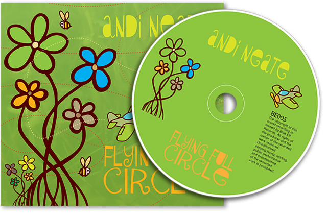 CD packaging designed by Lunaria Ltd.