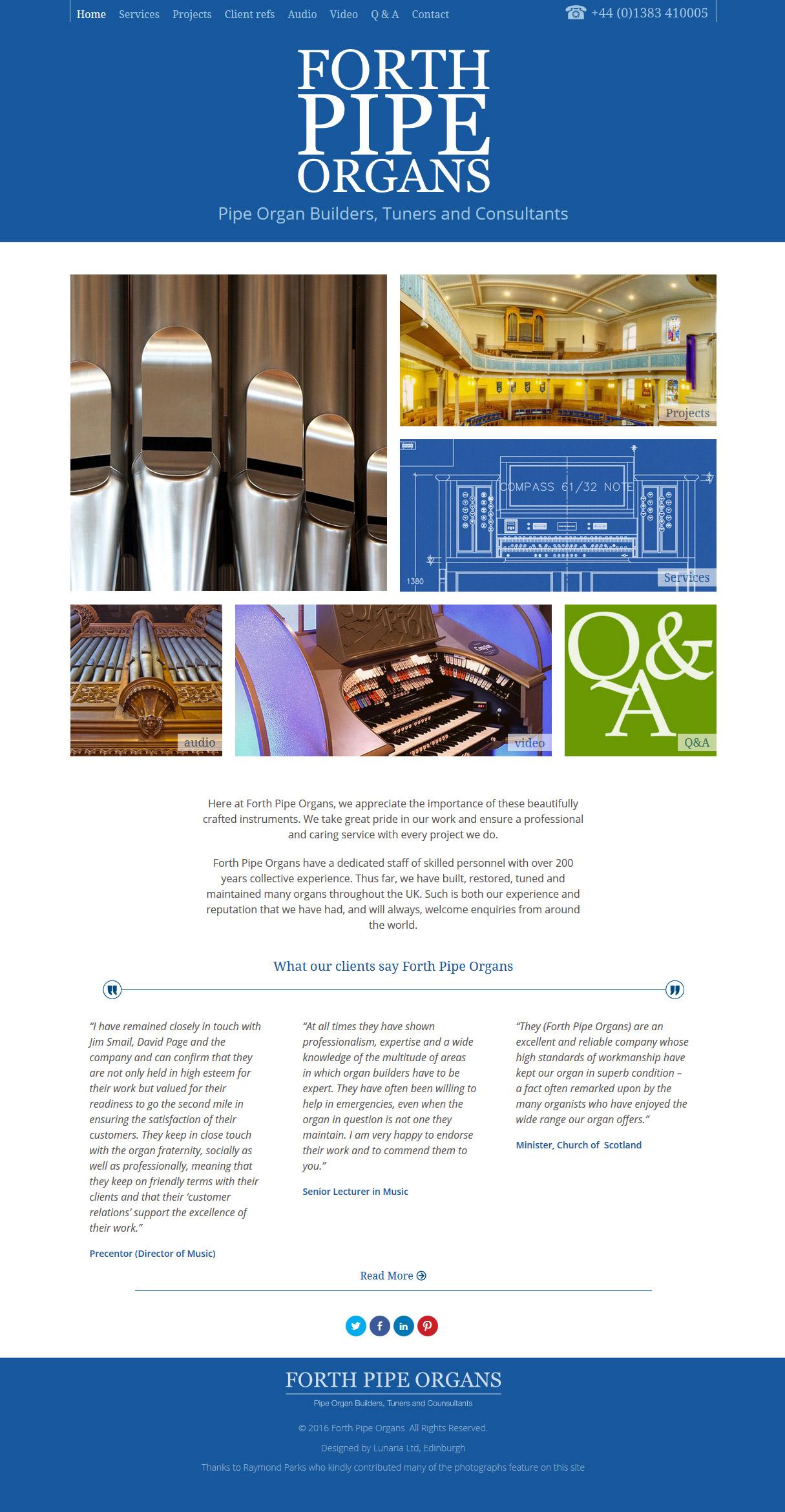 Website design by Lunaria Ltd.