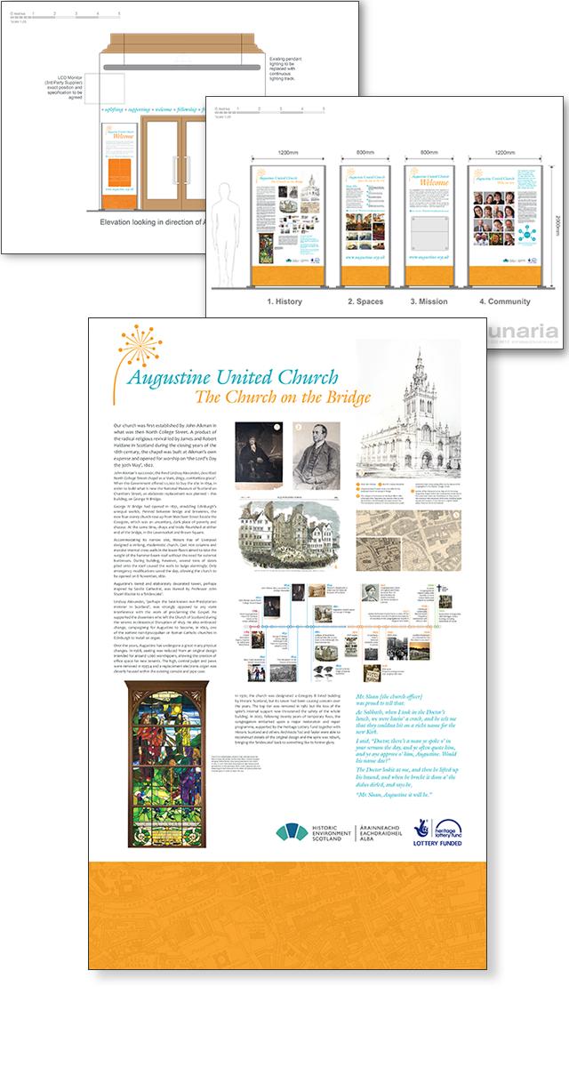 Exhibition Design by Lunaria Ltd.